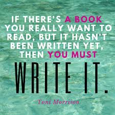 Writing: Is there a book you want to read, but you can't find it ...